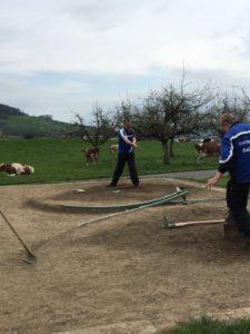 1. Testspiel gegen die HG Gondiswil B @ Hornusserplatz Gondiswil