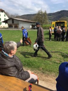 2. Meisterschaftsspiel gegen die HG Mättenwil-Brittnau B @ Hornusserplatz Reinach